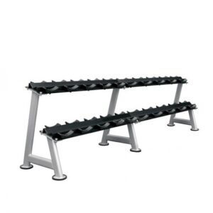 Buy Xtreme Elite Commercial 2 Tier Saddle Dumbbell Rack - Egym Supply