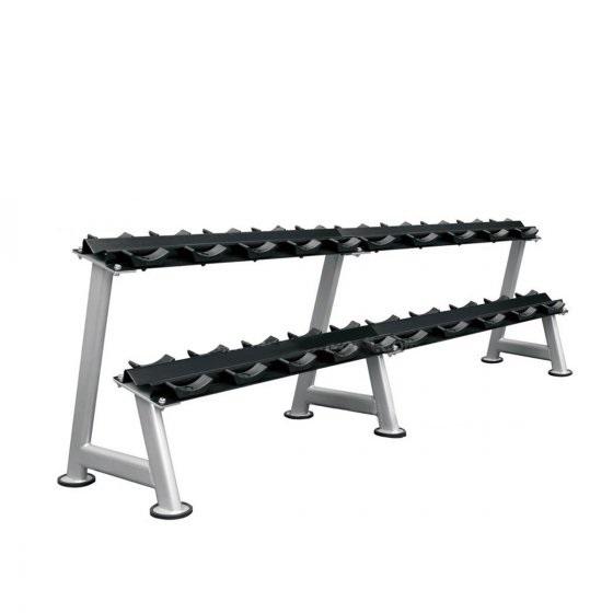Buy Xtreme Elite Commercial 2 Tier Saddle Dumbbell Rack - Egym Supply