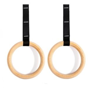 Buy Xtreme Elite Wooden Gymnastic Rings - EGym Supply