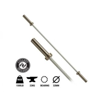 Buy Elite Premium 1500lb 7ft Olympic Bar Online - Egym Supply