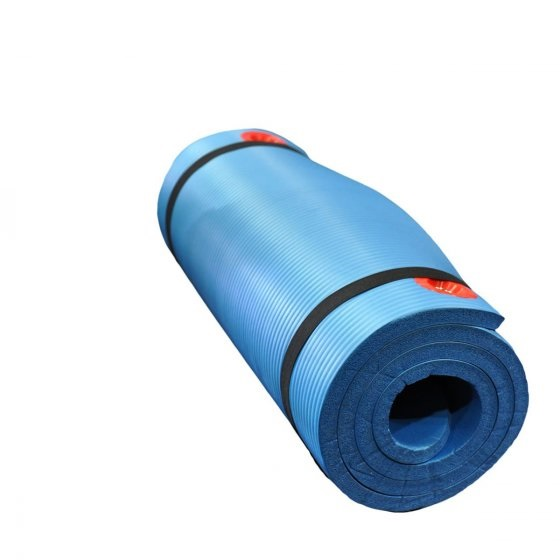 Buy Elite Exercise Mat - Blue W/ Integrated Eyelet - EGym Supply