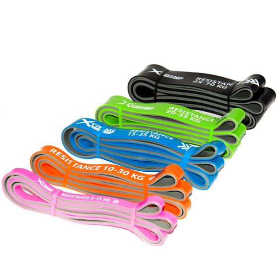 Buy Dual Coloured Extra Strength Power Band - EGym Supply