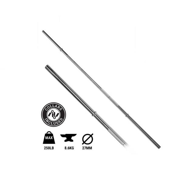 Buy Elite 550lb 6ft Olympic Bar Online - Egym Supply