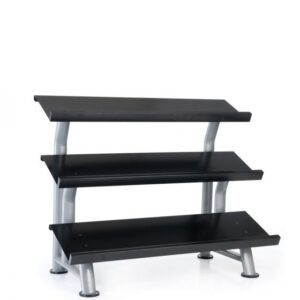 Buy Buy Elite 3 Tier Flat Tray Dumbbell Rack - Egym Supply