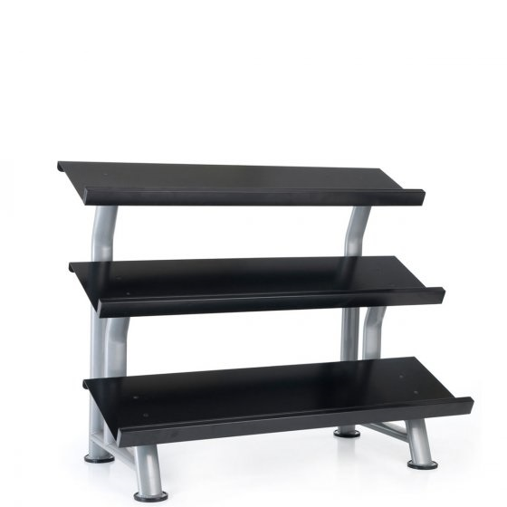 Buy Buy Elite 3 Tier Flat Tray Dumbbell Rack - Egym Supply