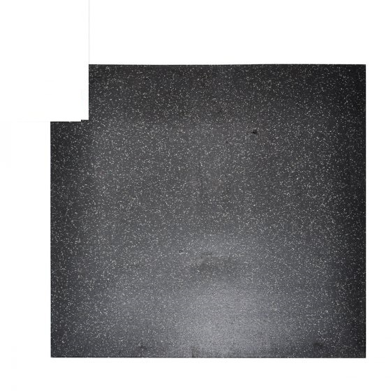 Elite Star-lite Rubber Floor Tile Black/Grey - EGym Supply