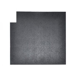 Buy Elite Star-lite Rubber Lifting Tiles X4 (25mm) - EGym Supply