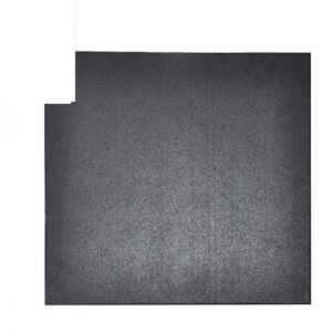 Buy Elite Star-lite Rubber Floor Tile Black - EGym Supply