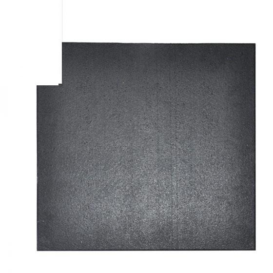 Buy Elite Star-lite Rubber Floor Tile Black - EGym Supply
