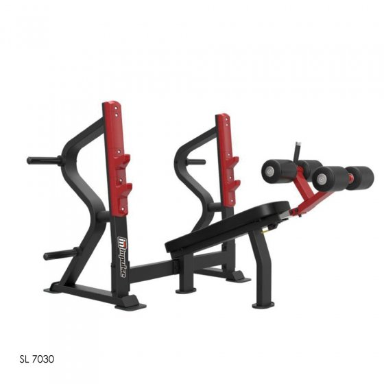 Buy Sl7030 Sterling Series Olympic Decline Bench Press - Egym Supply