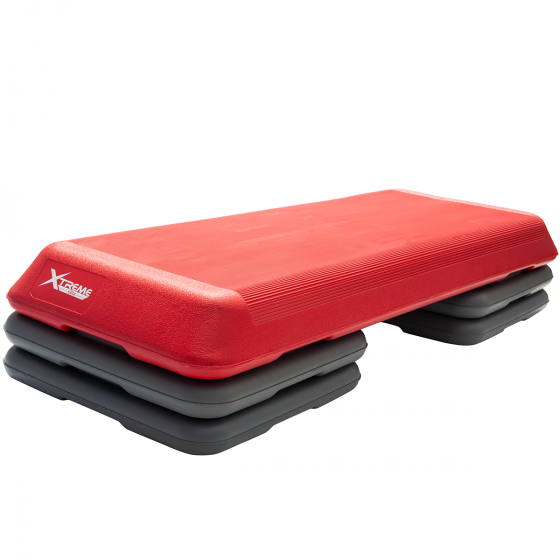 Buy Xtreme Elite Pro Step Red/Grey Online - EGym Supply